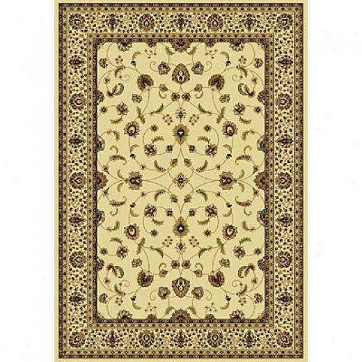 Rug One Imports Royal Tradition 8 X 11 Cream Area Rugs
