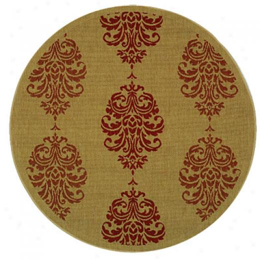 Safavieh Courtyard 7 Round Cy272037015r Area Rugs