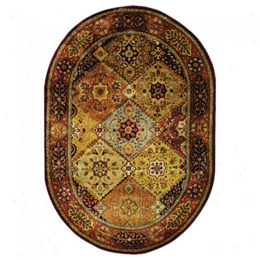 Safavieh Persian Legend Oval 5 X 7 Pl512a5ov Area Rugs
