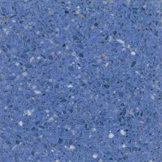 Santa Regina Designer 16 X 16 (Fool) Azul Terrazzo Tile