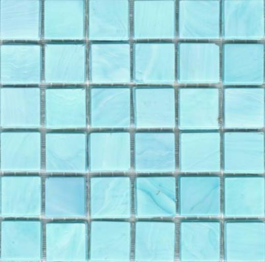 Sicis Murano Smalto Mosaic Turquoise 1 Tile & Stone