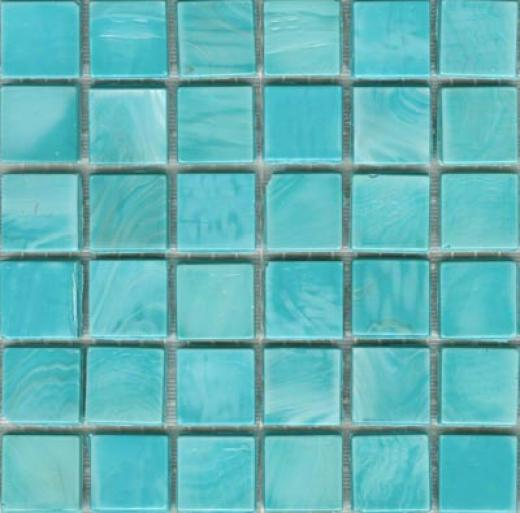 Sicis Murano Smalto Mosaic Turquoise Tile & Stone