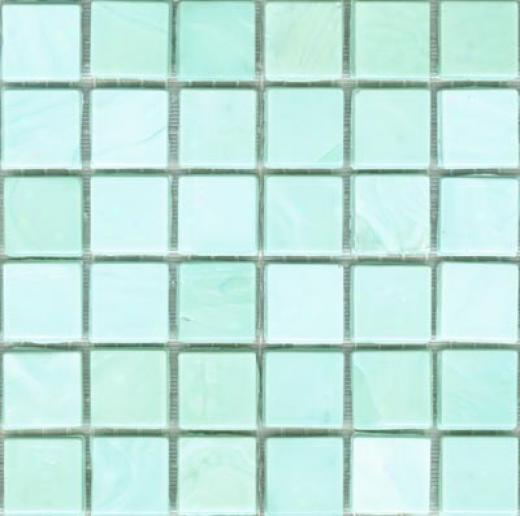 Sicis Murano Smalto Mosaic Aquamarine 1 Tile & Face with ~