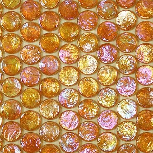 Sicis Neoglass Barrels Mosaic Jute Tile & Stone