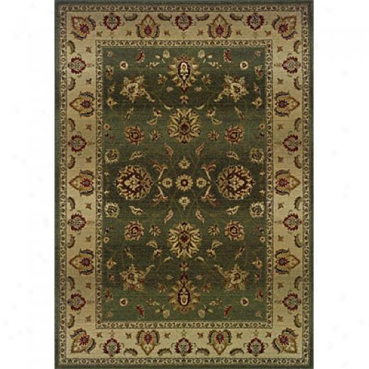 Sphinx By Oriental Weavers Genesis 2 X 3 Green Are aRugs