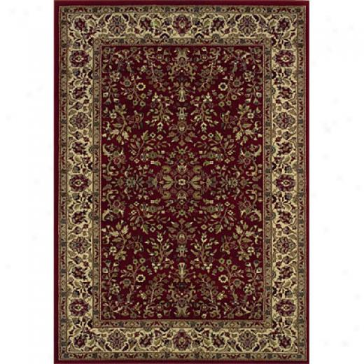 Sphinx By Precious Weavers Haven 4 X 6 Red Area Rugs