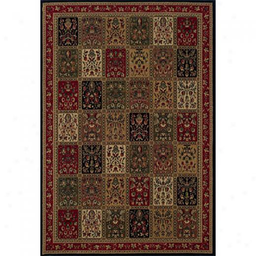 Sphinx By Oriental Weavers Highlands 5 X 8 Red Area Rugs