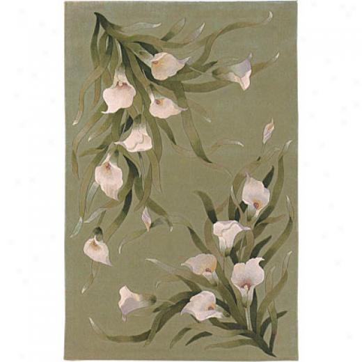 Sphinx By Orienttal Weavers Seasons 8 X 11 Seasons Calla Lily Area Rugs