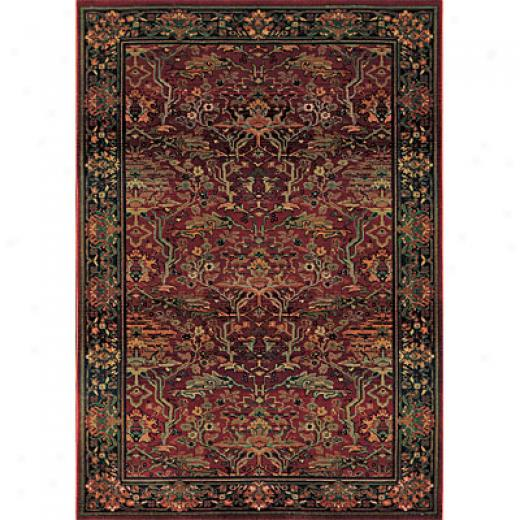 Sphinx By Orisntal Weavers Kharma 10 X 12 Red Area Rugs