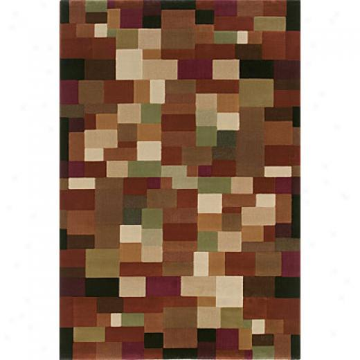 Sphinx By Oriental Weavers Genre 2 X 8 Rust Area Rugs