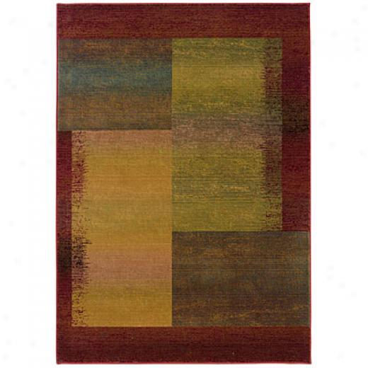 Sphinx By Oriental Weavers Kharma Ii 10 X 12 Green Area Rugs