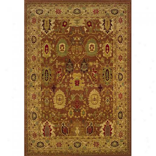 Sphinx By Oriental Weavers Allure 5 X 8 Rust Area Rugs