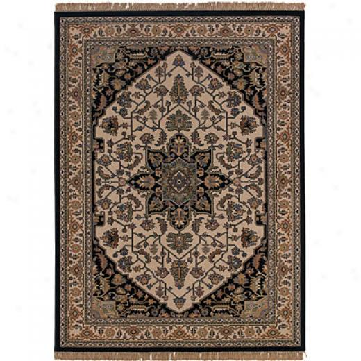Sphinx By Oriental Weavers Patina 6 X 8 Ivory Area Rugs