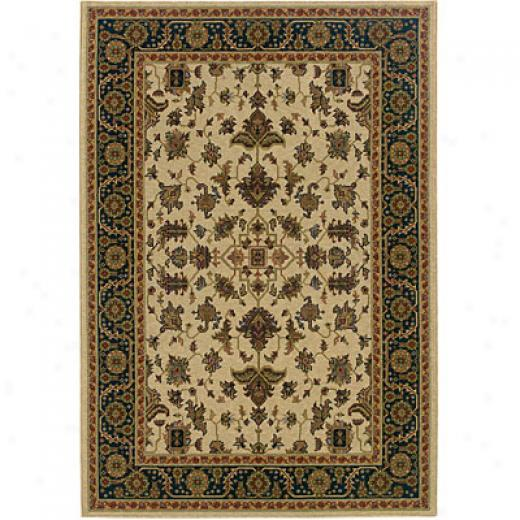 Sphinx At Precious Weavers Yorkshire 8 X 11 Ivory Area Rugs