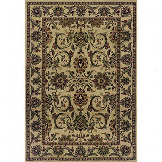 Sphinx By Oriental Weavers Luxor 8 X 11 Beige Area Rugs