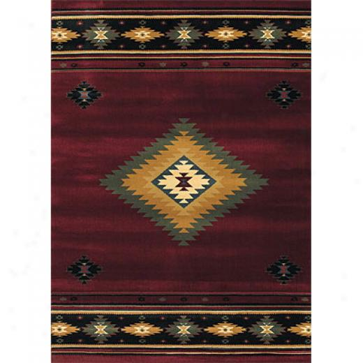 Sphinx By Oriental Weavers Taba 2 X 8 Taba Shiloh Red Area Rugs