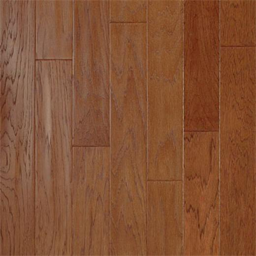 Stepco Handsculpted Loc Saddle Hickory Hardwood Flooring