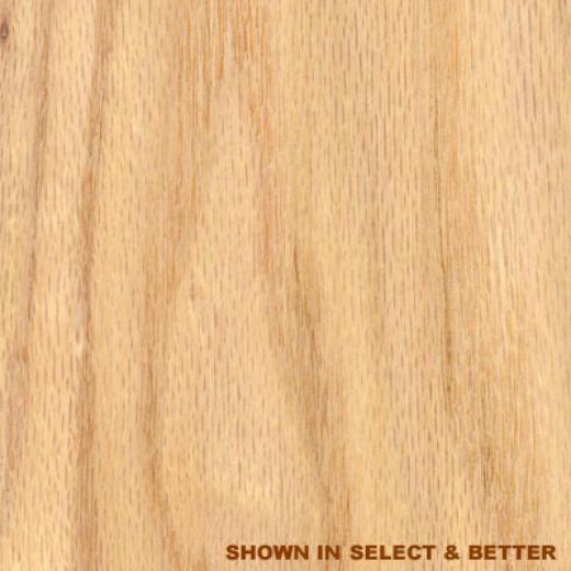 Stepco Red Oak 5 Unfinished Red Oak - Select Hafdwood Flooring