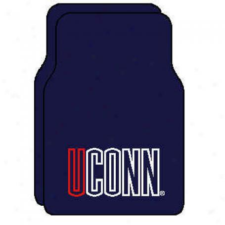 Strike Off Company, Inc Connecticut University Connecticut Football 3 X 6 Area Rugs