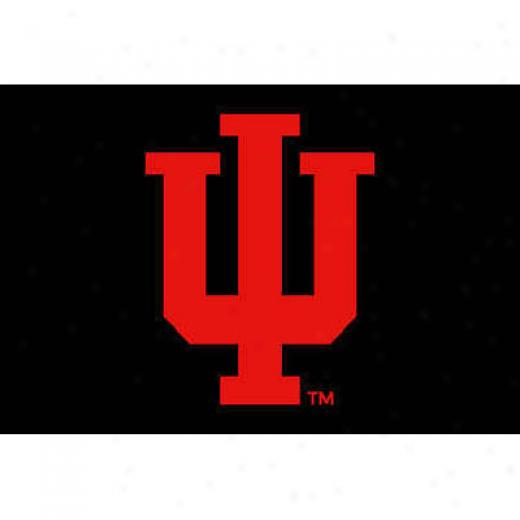 Strike Off Company, Inc Indiana University Indiana Entry Mat 2 X 3 Area Rugs
