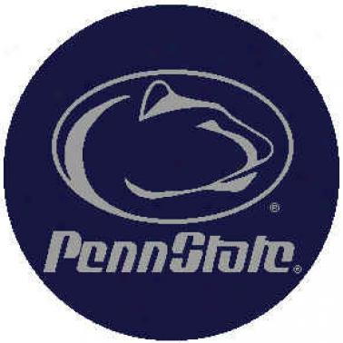 Strike Off Company, Inc Penh State University Penn State Round Rug 24