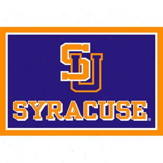 Strike Off Company, Inc Syracuse University Syracuse Area Rug 4 X 6 Area Rugs