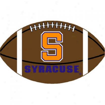 Strike Off Company, Inc Syracuse University Syracuse Football 3 X 6 Area Rugs