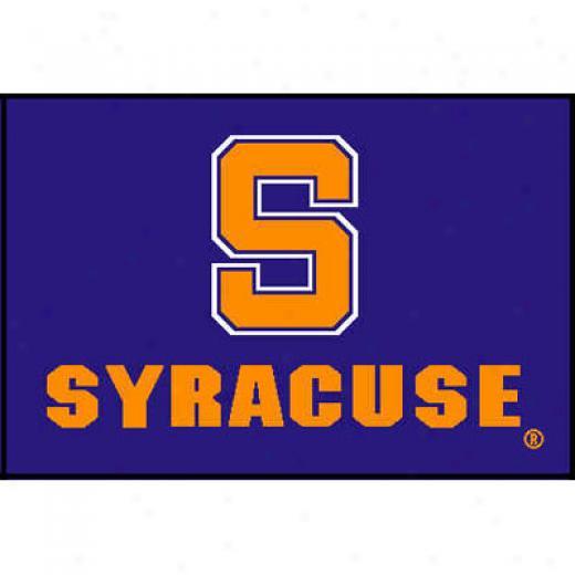 Strike Off Company, Inc Syracuse University Syracuse Entry Maf 2 X 3 Ar3a Rugs