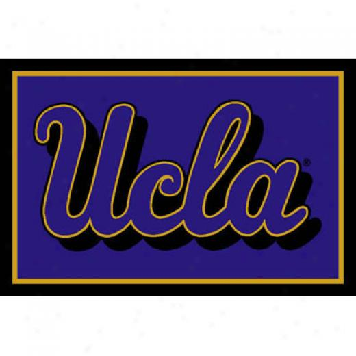 Strike Off Company, Inc Ucla University Ucla Area Rug 3 X 5 Area Rugs