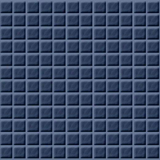 Studio Line Glass Tile Studio Line Ubicolor Mosaic 1 X 1 Blu Mu25 22
