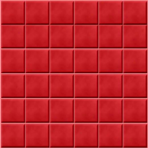 Studio Line Glass Tile Studio Line Unicolor Mosaic 2 X 2 Rosso Mu55 0