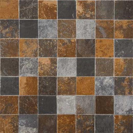 Tarkett Fiber Floors Easy Living - Savana Flagstone Fossil Vinyl Flooring