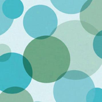 Tarkett Fiber Floors Easy Living - Bubble Fun Turqupise Blue Vinyl Flooring