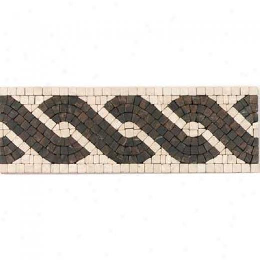 Tesoro Capri Listello Noce Tile & Stone