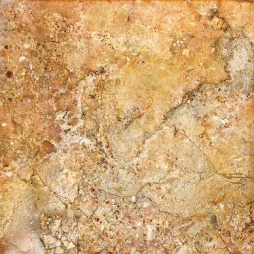Tesoro Cosntellations 13 X 13 Cassiopea Amber Tile & Stone