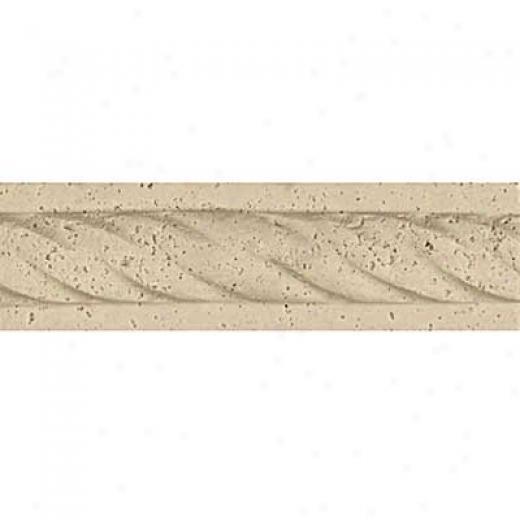 Tesoro Corda Listello Classic Flat Corner Tile & Stone