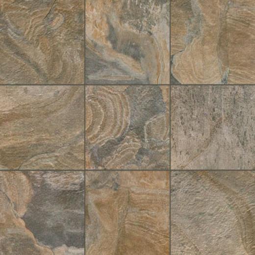 Tesoro Delhi 13 X 13 Grey Tile & Stone