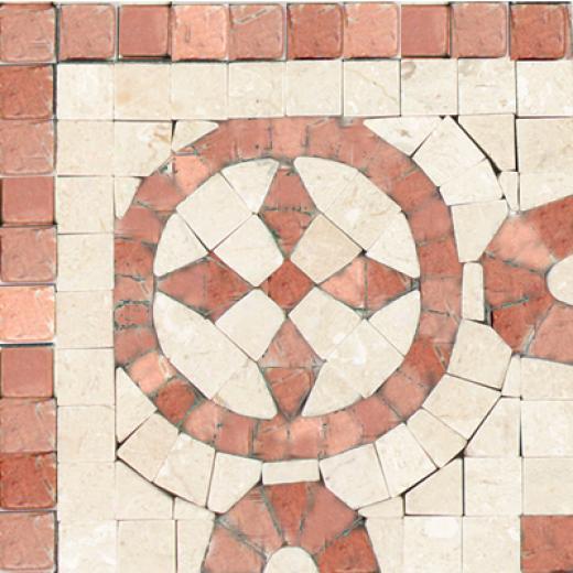 Tesoro Florenve Listello Rosso Nook Tile & Stone
