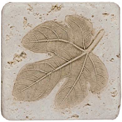 Tesoro Fossil Listello Leaf D Tile & Stone