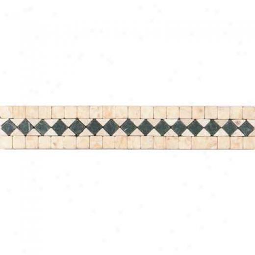 Tesoro Genova Listello Beige/verde Tile & Stone