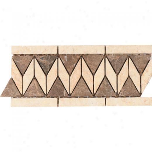 Tesoro Lucera Listello Noce Tile & Stone