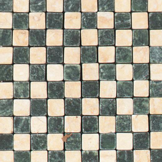 Tesoro Malta Insert Verde/beige Tile & Stone