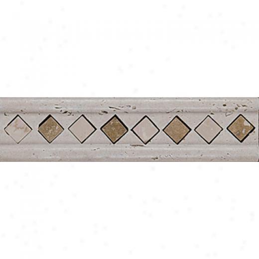 Tesoro Marble Listello/inserts Antique Sylvia Listello Tile & Stone