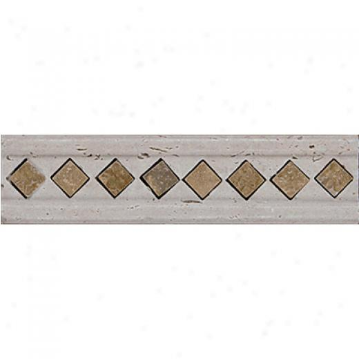 Tesoro Marble Listello/inserts Antique Noce Listello Tile & Stone