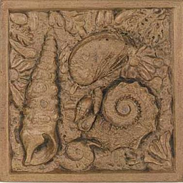 Tesoro Marina Tozetto Bronze Gold 4 X 4 Tile & Stone