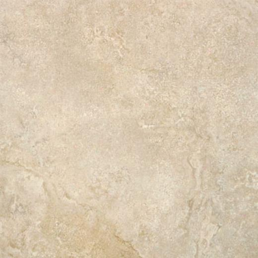 Tesoro Marmaris 13 X 13 Antique White Tile & Stone