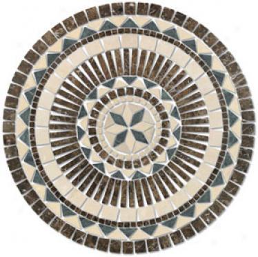 Tesoro Medallions Pompei Round Tile & Stone