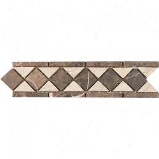 Tesoro Rimini Listello Noce Tile & Stone