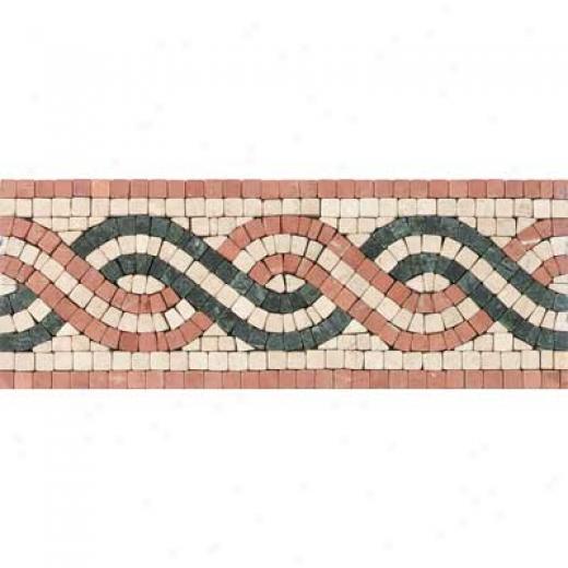 Tesoro San Remo Listello Rosso Tile & Stone