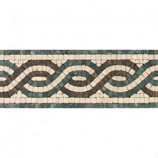 Tesoro San Remo Listello Verde Tile & Stone